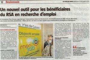 MonJob62, la plateforme de retour à l'emploi du Pas-de-Calais